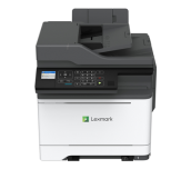 NEW Color Laser Multifunctional Lexmark MC2425adw 4in1; Duplex (RADF); A4; 1200 x 1200 dpi; 4800 CQ;23 ppm; 1024 MB; capacity: 250+1 sheets; USB 2.0 Specification Hi-Speed Certified (Type B), Gigabit Ethernet (10/100/1000), 802.11b/g/n Wireless, Front USB