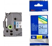 Brother TZe-551 Tape Black on Blue, Laminated, 24mm, 8 m - Eco
