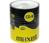 CD-R MAXELL ШРИНК 100БР. 700MB 52X