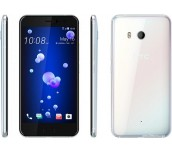 "NEW! HTC U11 Ocean Ice White/Cover/5.5"" Quad HD(2560x1440) /Super LCD 5 3D Corning® Gorilla® Glass 5/Qualcomm™ Snapdragon™ 835 64 bit Octa-core 2.45Ghz/4GB/64GB/Main Camera 12MP (HTC UltraPixel™ 3) UltraSpeed Autofocus, BSI sensor, Optical Image Stabiliza"