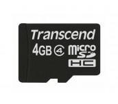 Transcend 4GB microSDHC (No Box & Adapter, Class 4)