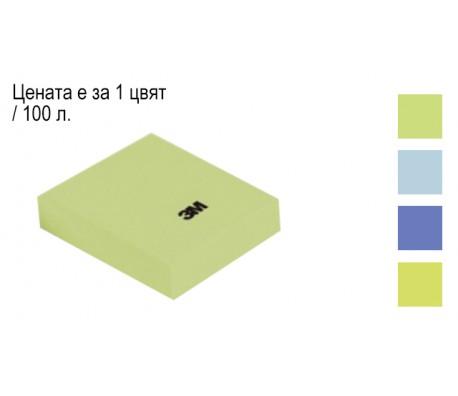 ЛИСТЧЕТА САМОЗАЛЕПВАЩИ POST-IT 38/51 653MTDR