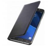 Samsung Galaxy J7 (2016), Flip Cover, Black