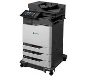 Color Laser Multifunctional Lexmark  CX825dte 4in1; Duplex; A4; 1200 x 1200 dpi; 4800 CQ; 52 ppm; 2048 MB; HDD, DADF; capacity: 1750 sheets; USB 2.0; Gigabit Ethernet (10/100/1000);  7'' colour touch screen, 250 000pages
