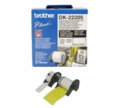 Brother DK-22205 Roll White Continuous Length Paper Tape 62mmx30.48M (Black on White)