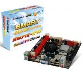 MB Biostar Intel NM70, s1023, Cel 847 1.1Ghz DualCore, 2 x DDR3 1333, PCIe x8, SATA III, HDMI/DSUB, PS/2, USB 3.0