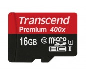 Transcend 16GB micro SDHC UHS-I Premium (No Box & Adapter, Class 10)