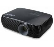 Projector Acer P1386W, DLP® 3D ready 144Hz 24p 3D, Resolution: WXGA (1280x800), Format: 16:10, Contrast: 20 000:1, Brightness: 3 500 lumens, Input: HDMI®/MHL, 2 x Analog RGB(D-sub), 1x Composit video (RCA), 2xAudio In, Output: DC Out (5V/1A, USB Type A) x