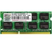 Transcend 8GB 204pin SO-DIMM DDR3L 1600 2Rx8 512Mx8 CL11 1.35V