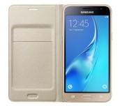 Samsung Galaxy J7 (2016), Flip Cover, Gold