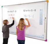 Интерактивна дъска  dualboard 1279 + стойка за стена wallmount next 1200 + късофокусен проектор optoma x308ste
