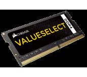 Памет Corsair DDR4, 2400MHz 16GB (1 x 16GB) 260 SODIMM, Unbuffered,16-16-16-39, Black PCB, 1.2V, Intel new generation Intel Core™ i5 and i7 Processor supports