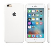 Apple iPhone 6s Plus Silicone Case - White