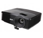 Projector Acer P5403, ПОДАРЪК: Ръчен екран, DLP® 3D ready, SXGA+ (1400x1050), Contrast: 3 000:1, Brightness: 3 500 lumens, Input: HDMI®, 2xD-sub, RCA, S-video, L/R audio, Audio In, Output: D-sub, Audio Out, LAN-port, Acer ColorBoost II+, Acer ColorSafe II