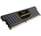 Памет Corsair DDR3L, 1600MHz 8GB (1 x 8GB) 240 Dimm, Unbuffered, 9-9-9-24, Vengeance Black Low Profile Anodized Aluminum Heatspreader,Supports 6th Intel® Core™ i5/i7, XMP1.3, 1.35V