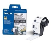 Brother DK-11221 Square Paper Labels, 23mmx23mm, 1000 labels per roll (Black on White)