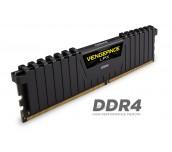Памет Corsair DDR4, 3000MHz 16GB (2 x 8GB) 288 DIMM, Unbuffered, 15-17-17-35, Vengeance LPX Black Heat spreader, 1.35V, XMP 2.0, Supports new series Intel® Core™ i5/i7