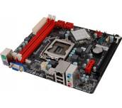 MB Biostar Intel H61, s1155, 2 x DDR3 1600, PCIe x16, SATAII, DSUB, PS/2, USB 2.0