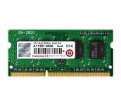 Transcend 2GB 204pin SO-DIMM DDR3L 1600 1Rx8 256Mx8 CL11 1.35V
