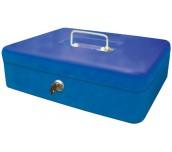 КУТИЯ ЗА БАНКНОТИ И МОНЕТИ CASH BOX СИН 25X19X9 CASH BOX25