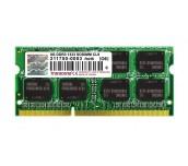 Transcend 8GB 204-pin SO-DIMM DDR3 1333 2Rx8 512Mx8 CL9 1.5V