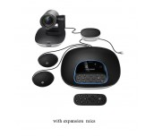 Logitech ConferenceCam Group, Full HD, Up To 14 Seats, Remote Control, HD Zoom, Autofocus, Black
