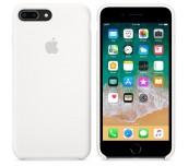 Apple iPhone 8 Plus/7 Plus Silicone Case - White