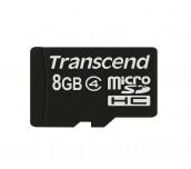 Transcend 8GB microSDHC (No Box & Adapter, Class 4)