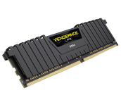 Памет Corsair DDR4, 2400MHz 8GB 288 DIMM, Unbuffered, 14-16-16-31, Vengeance LPX Black Heat spreader, 1.20V, XMP 2.0, Supports 6th Intel® Core™ i5/i7