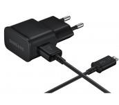 Samsung Travel Adapter 5V 2A, Flat TA, 5 pin (uUSB) Fixed Black