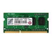 Transcend 2GB 204pin SO-DIMM DDR3 1333 1Rx8 256Mx8 CL9 1.5V