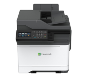 NEW Color Laser Multifunctional Lexmark MC2640adwe  4in1; Duplex (DADF); A4; 1200 x 1200 dpi; 4800 CQ; 38 ppm; 2048 MB; Quad Core, 1200 w/ GPU MHz; capacity: 250+1 sheets; USB 2.0 Specification Hi-Speed Certified (Type B), Gigabit Ethernet (10/100/1000),