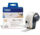 Brother DK-11201 Roll Standard Address Labels, 29mmx90mm, 400 labels per roll, Black on White