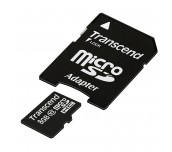 Transcend 8GB microSDHC (with adapter, Class 10)